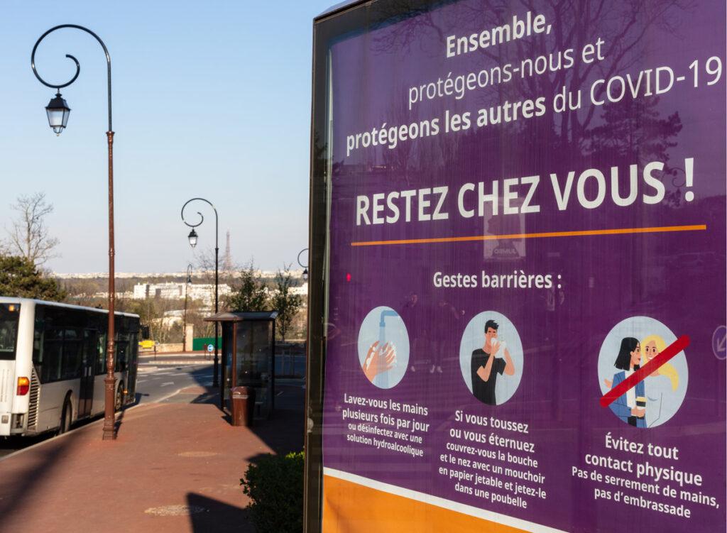 Paris Coronavirus Plakat