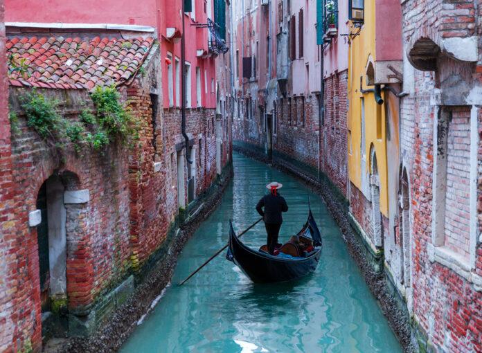 Venedig heute Wasser klar