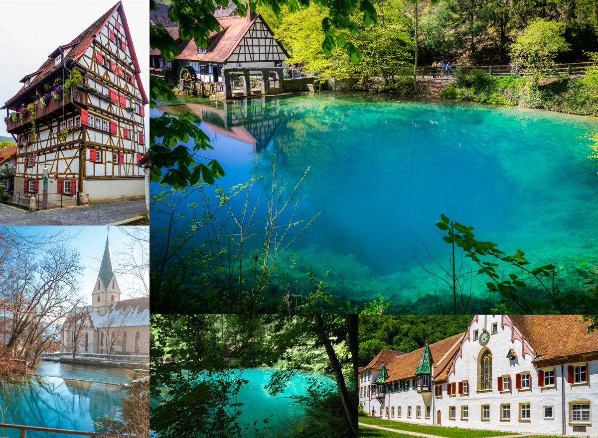 Urlaubsziele Deutschland Blautopf Blaubeuren