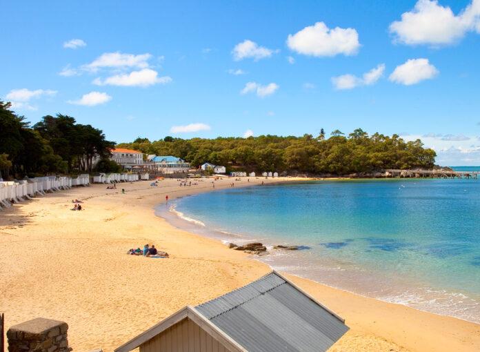 Der kleine Nick macht Ferien Drehort Strand Noirmoutier Frankrei