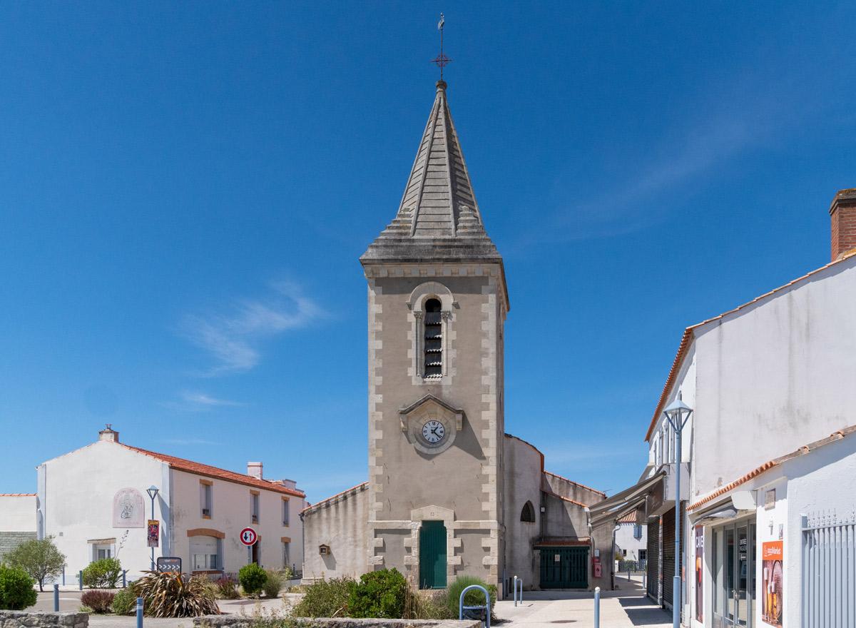 Dorfkirche Insel Noirmoutier Vendée Westküste Frankreich