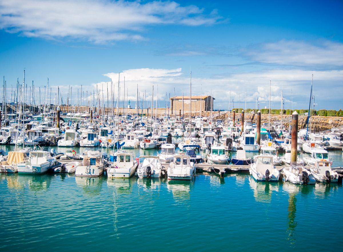 Hafen von Herbaudière Noirmoutier