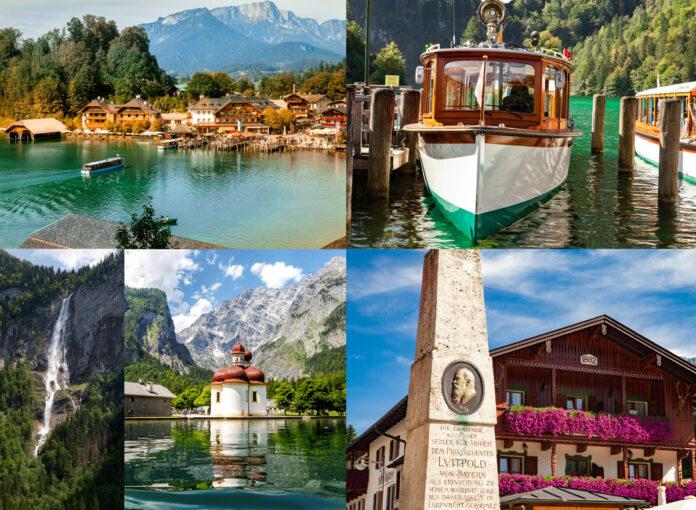 Urlaub in Deutschland am See Königsee in Bayern