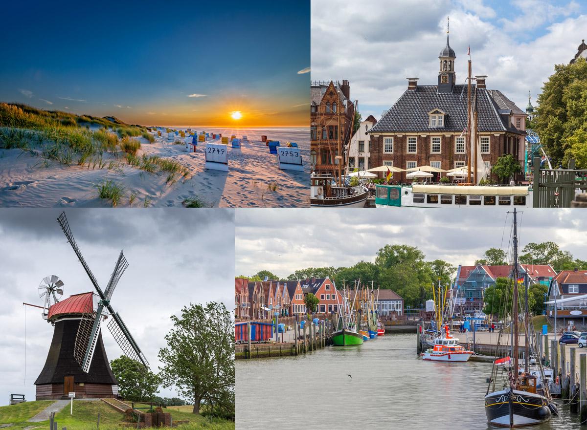 Urlaub in Deutschland am Meer Ostfriesland
