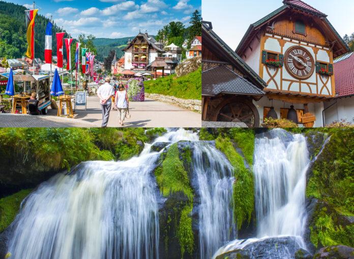 Urlaubsziele Deutschland Triberger Wasserfälle
