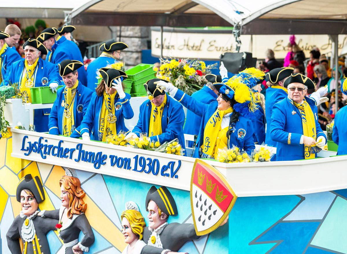 Karneval in Köln ist ein Muss für Touristen