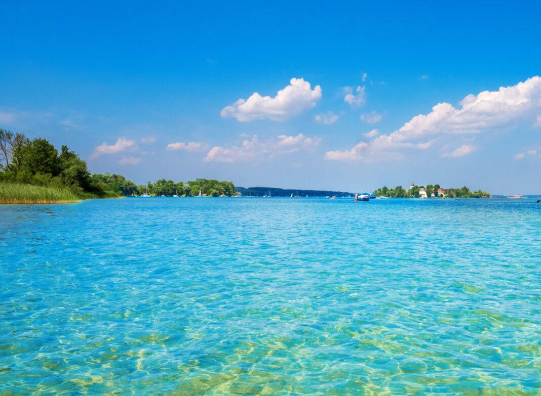 Die schönsten Seen in Bayern: Der Chiemsee gehört auf jeden Fall zur bayrischen Karibik