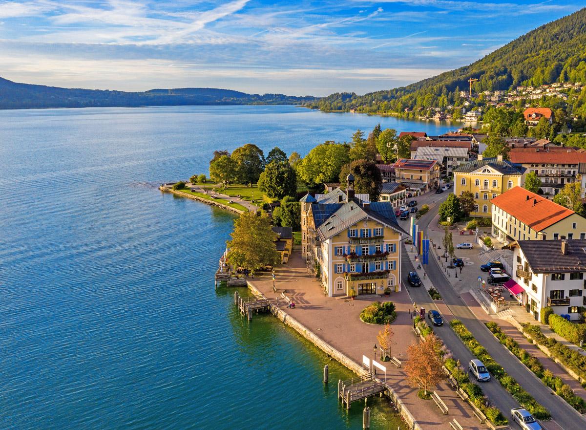 Südsee-Feeling: Der Tegernsee in Bayern gehört zur Bayerischen Karibik /