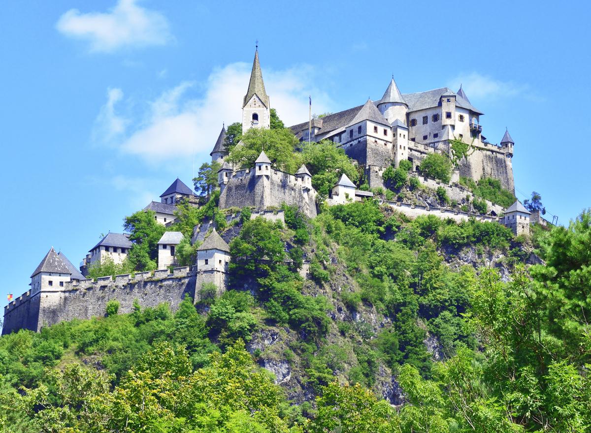 Burg Hochosterwitz: Das Schloss ist ein Besuch wert