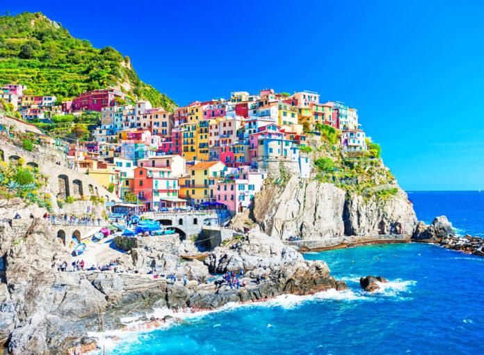 Die bunten Häuser von Manarola sind die wohl schönste Kulisse in Cinque Terre