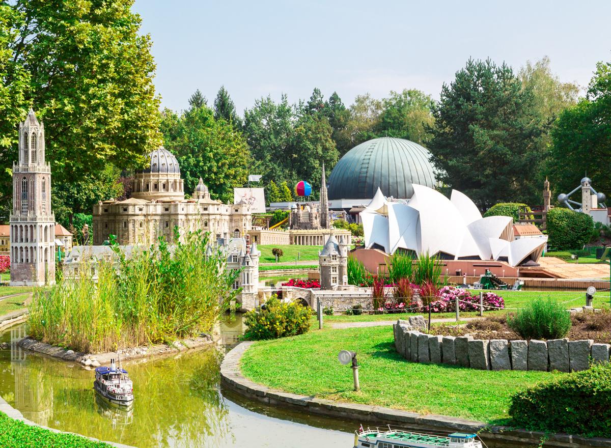 Das Minimidus in Klagenfurt ist eine Sehenswürdigkeit Kärntens