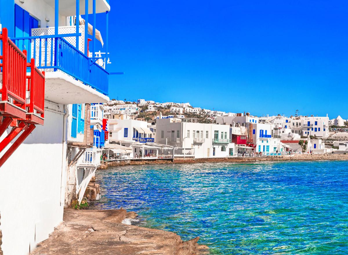 Mykonos ist die Partxinsel der griechischen Inseln