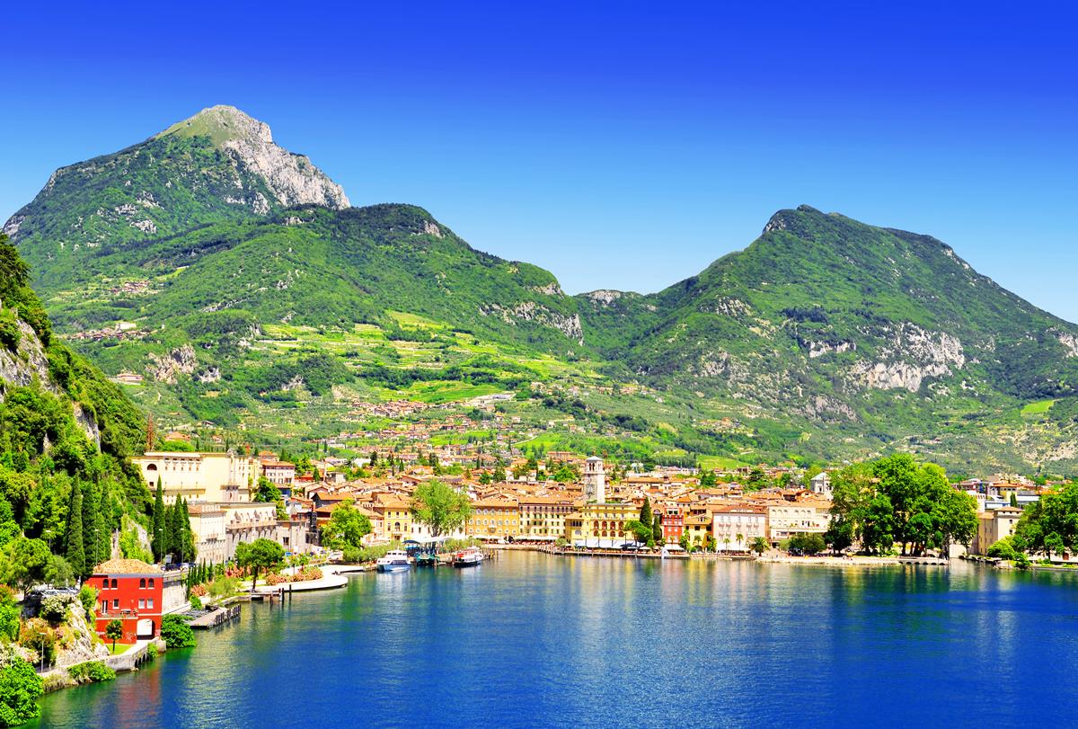 Riva Del Garda lädt zum Entspannen ein