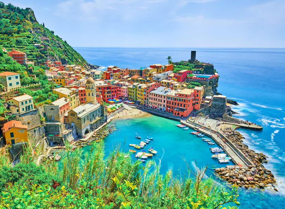 Vernazza in Cinque Terre hat knapp 770 Einwohner