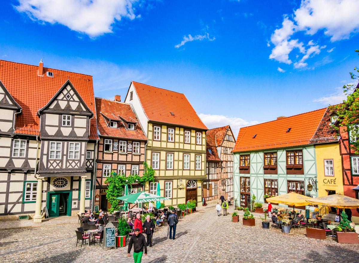 Quedlinburg: Reisen in Deutschland geht mit den aktuellen Corona Regeln