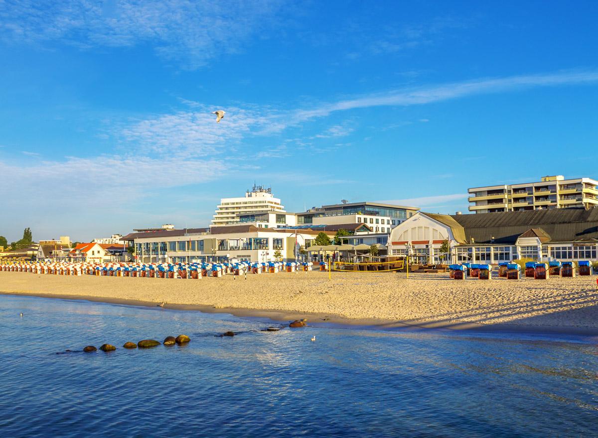 Grömitz hat einen tollen Sand Strand